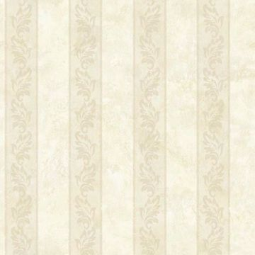Evelin Beige Ornate Stripe