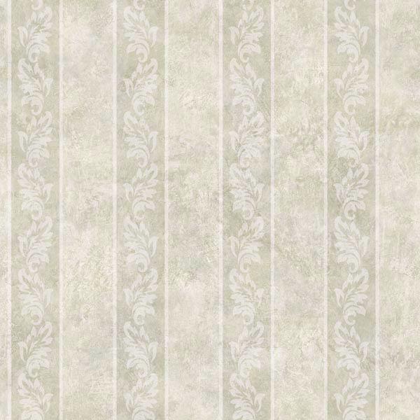 Evelin Grey Ornate Stripe