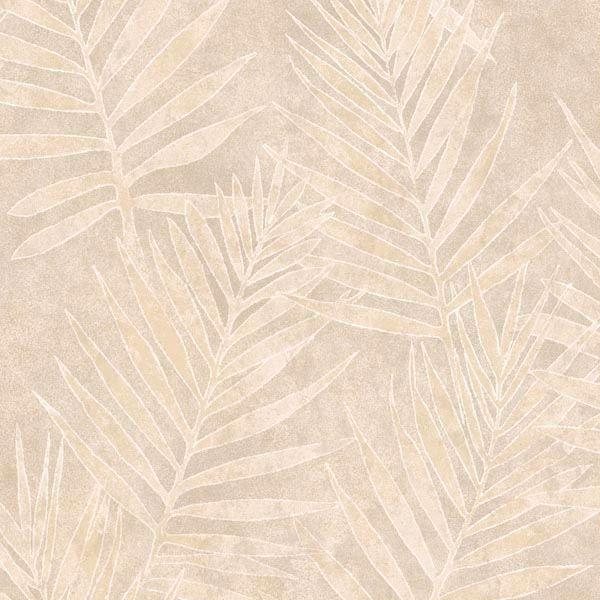 Grand Palms Cream Leaves