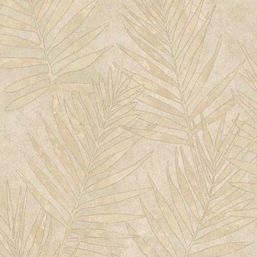 Grand Palms Beige Leaves