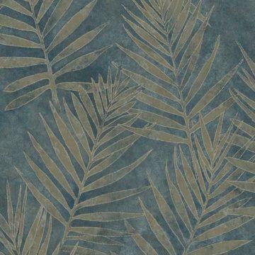 Grand Palms Blue Leaves