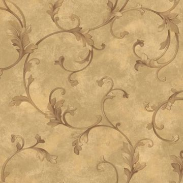 Voluta Bronze Acanthus Scroll