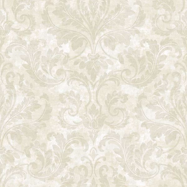 Finley Silver Regal Damask