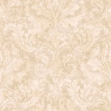 Finley Beige Regal Damask