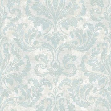 Finley Blue Regal Damask