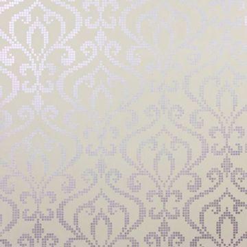 Venus Lavender Metallic Mini Damask