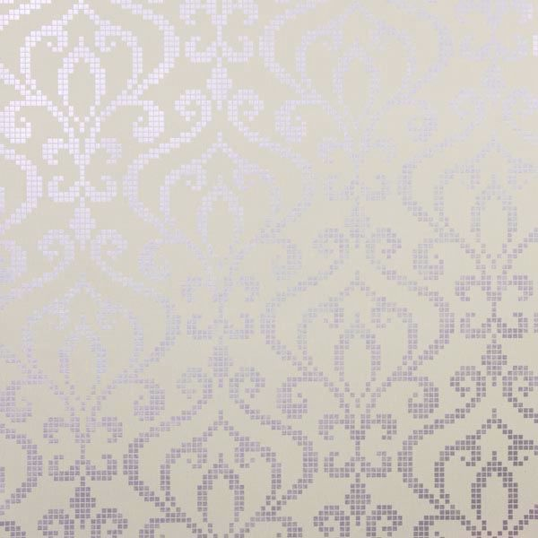 Venus Lavender Metallic Mini Damask