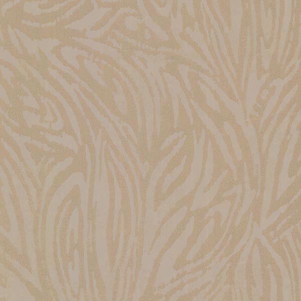 Tempest Brass Abstract Zebra