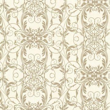 Tianna Gold Ironwork Scroll