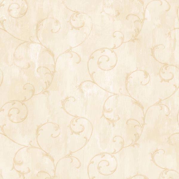 Mimosa Beige Scroll