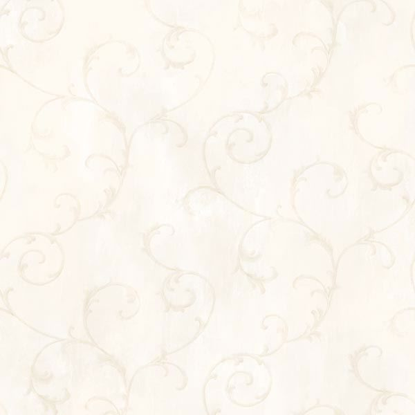 Mimosa Cream Scroll