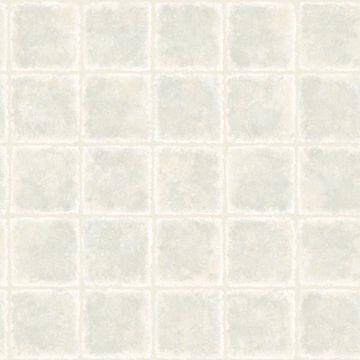Gold Leaf Blue Tile Texture