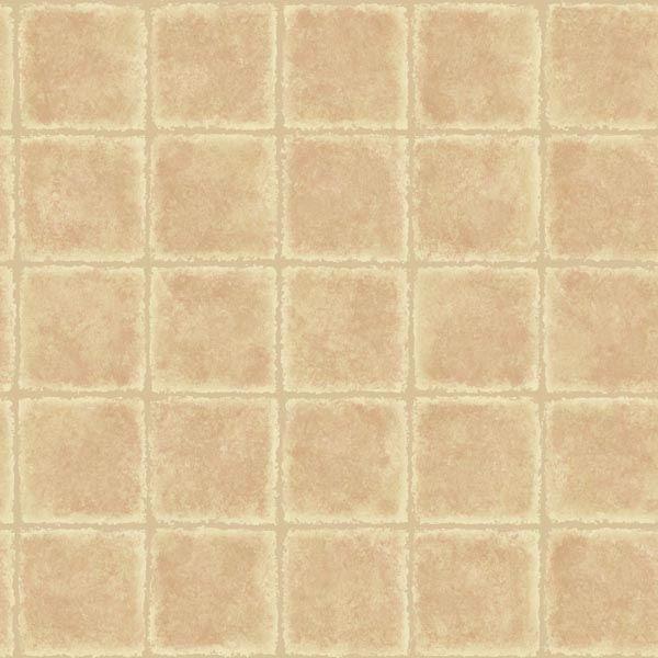 Gold Leaf Rust Tile Texture
