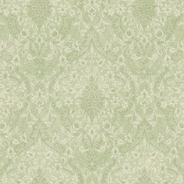Essex Green Lacey Damask