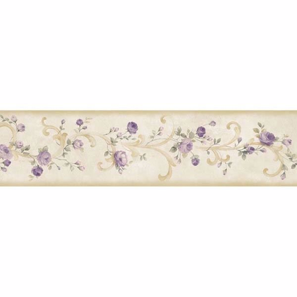 Scotney Purple Tearose Acanthus Border