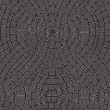 Hanley Black Mosiac Tile