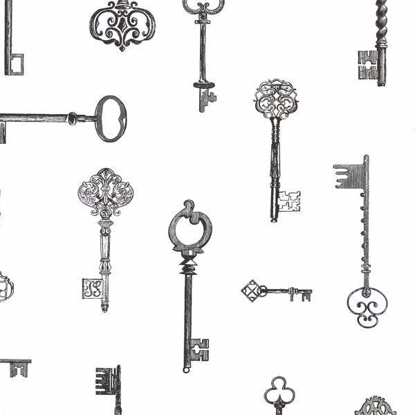 Addison Black Vintage Keys