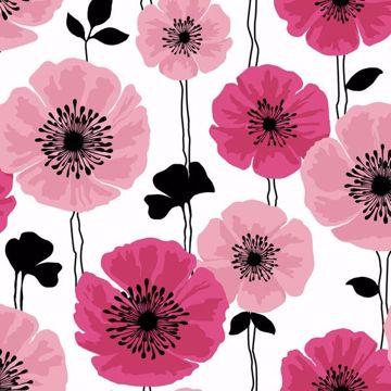 Darcy Magenta Modern Floral