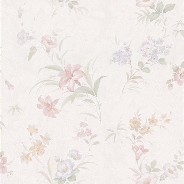 Arlette Pastel Satin Floral Toss