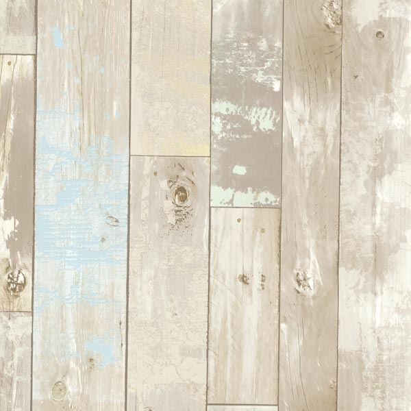 Dean Neutral Distressed Wood Panel