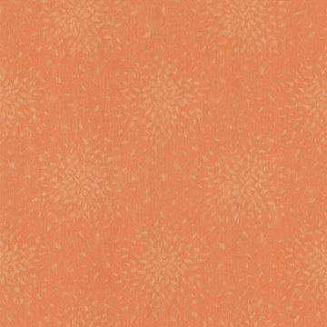 Summer Orange Modern Floral
