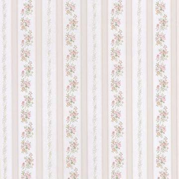 Merle Beige Floral Stripe