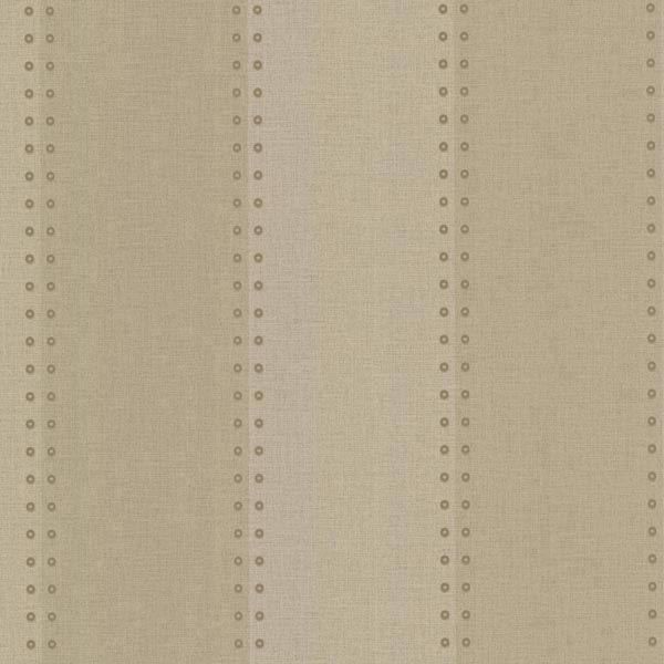 Cullen Beige Nailhead Stripe