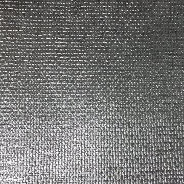 Ziba Silver Metallic Woven Texture