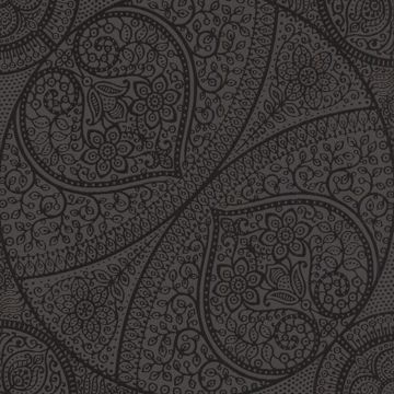 Yasamin Black Mehndi Medallion