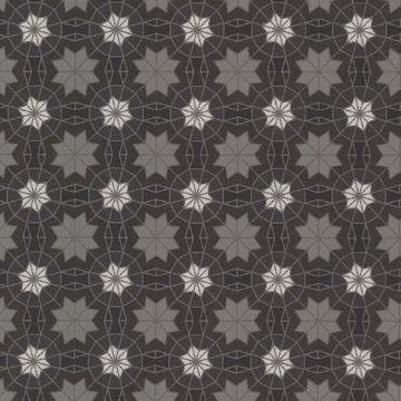 Marqueterie Black Mosaic Geometric