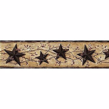 June Black Heritage Tin Star Border