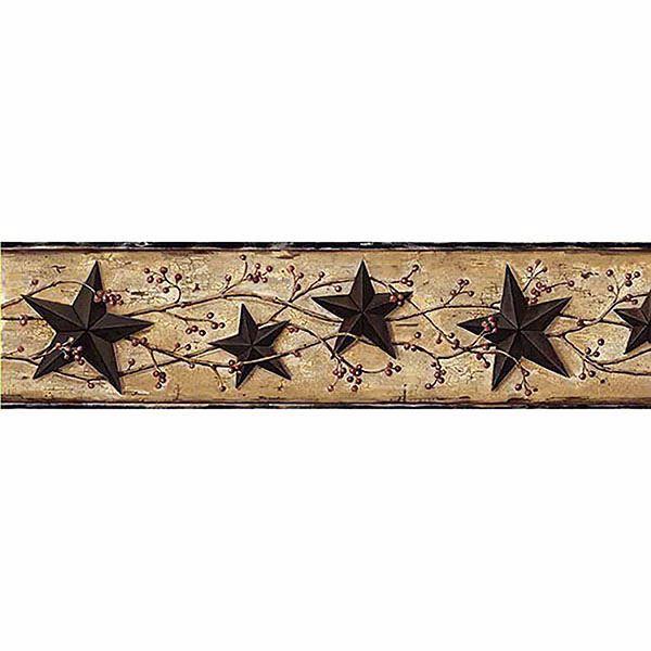 June Black Heritage Tin Star Border