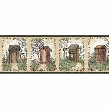 Fisher Sage Country Outhouses Border