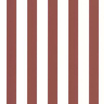 Hattie Red Cityscape Stripe