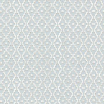 Austen Light Blue Small Geo