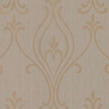 Luca Gold Damask