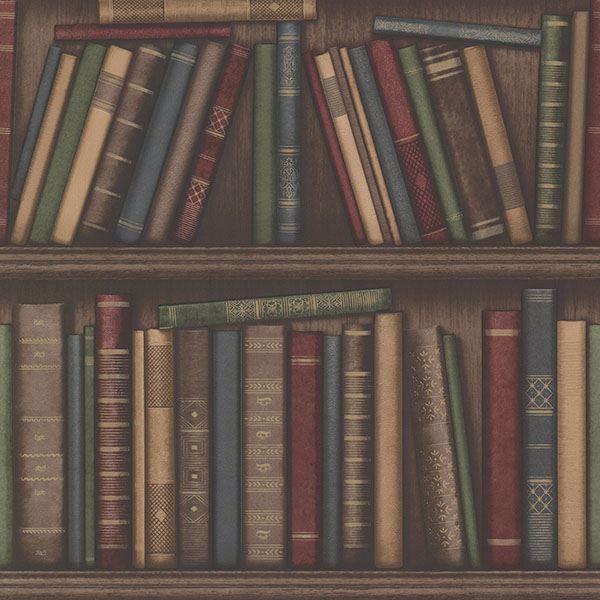 Picture of Atheneum Burgundy Antique Books
