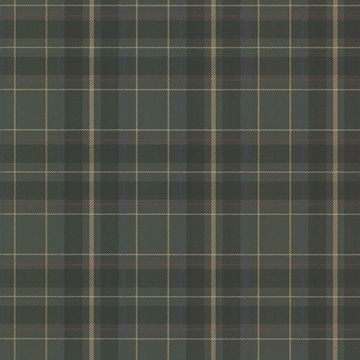 Picture of Caledonia Dark Green Plaid