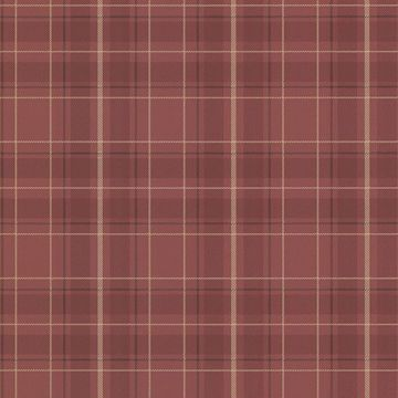 Picture of Caledonia Burgundy Plaid