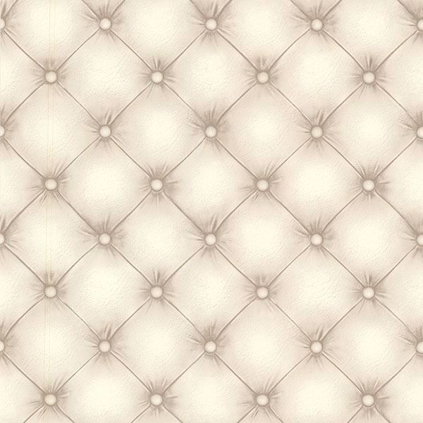 Picture of Chesterfield Off-White Tufted Leather