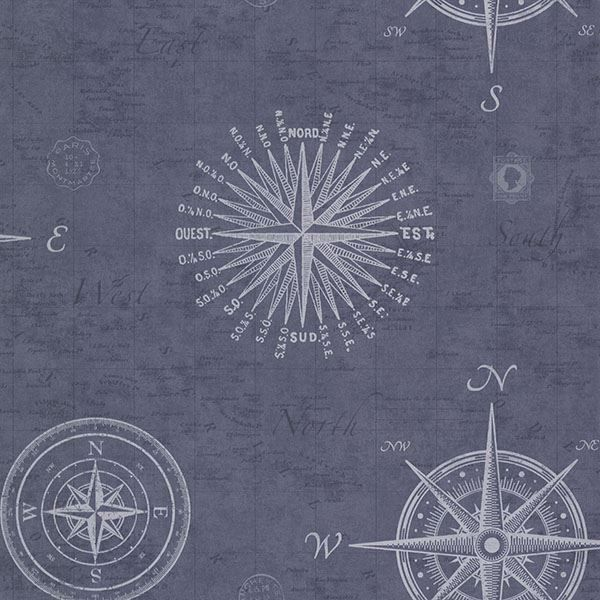 Picture of Navigate Ocean Vintage Compass