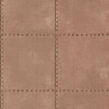 Picture of Riveted Copper Industrial Tile