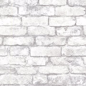 Picture of Brickwork Light Grey Exposed Brick