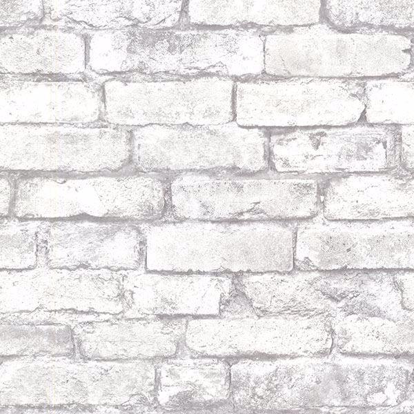 Picture of Brickwork Light Grey Exposed Brick