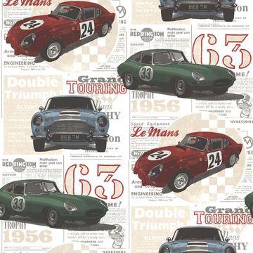 Picture of Road Trip Multicolor Antique Cars