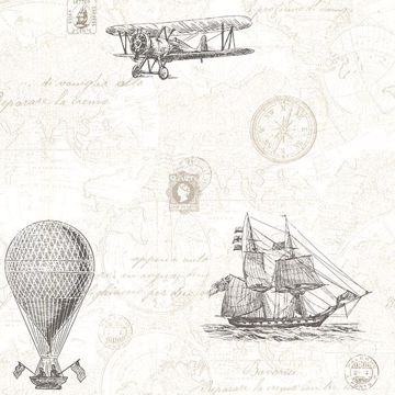 Picture of Explorer Fog Antique Map