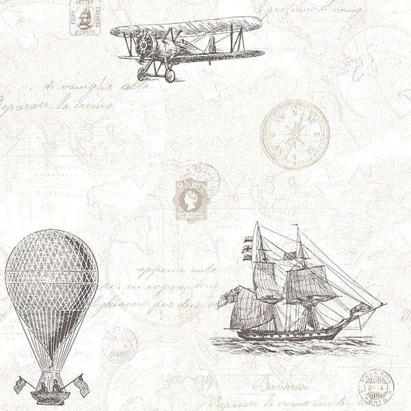 Picture of Explorer Fog Antique Map