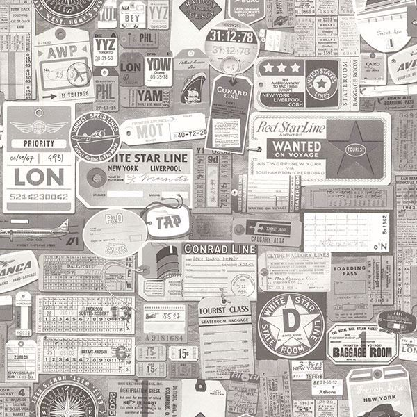 Picture of Souvenir Grey Vintage Tags