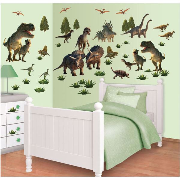 Dinosaur Land Wall Art Kit