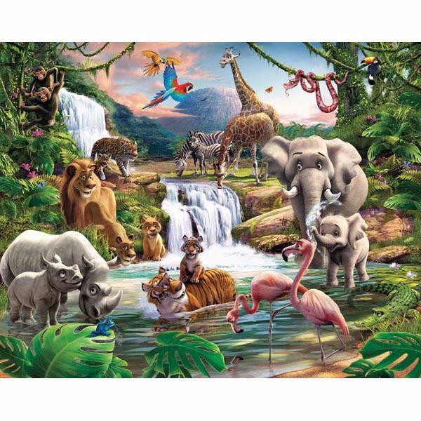 Jungle Adventure Mural